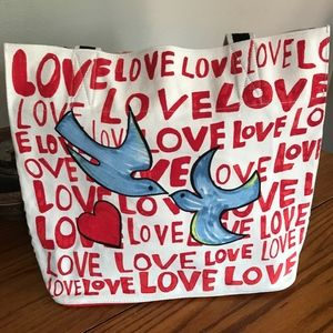 Brighton Canvas Tote NWT